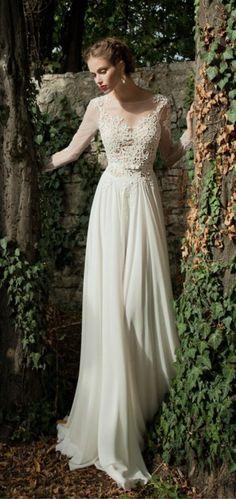 Vestidos de noiva para o inverno 2014
