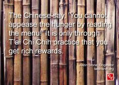 Quote by Justin Stone, Originator of the moving meditation T'ai Chi Chih: Find more info at www.taichichih.org Justin Stone, Stone Quotes, True Nature, How To Get Rich, Meditation, Words, Inspiration, Biblical Inspiration, Horse