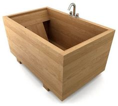 View our Japanese ofuro portfolio. Our custom ofuro tubs are made to order from fine hardwoods, deepsealed, and can be shipped anywhere in the world. Japanese Soaking Tubs, Japanese Bathroom, Bath Pictures, Bathroom Pictures, Wood Bathtub, Wood Tub, Mini Bathtub, Bath Tub, Japanese Architecture