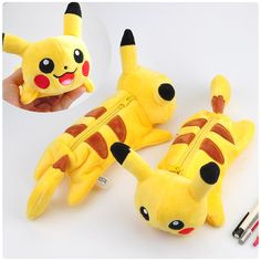 Cartoon Plush Pikachu pencil case Cute Bts Pokemon pencil bag for kids toy gift Korean stationery pouch Office school supplies-in Pencil Cases from Office & School Supplies on Aliexpress.com   Alibaba Group