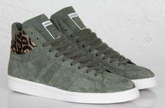 size 40 442dd 74ba2 adidas Originals AO Hook Shot II  Green Leopard - EU Kicks Sneaker  Magazine