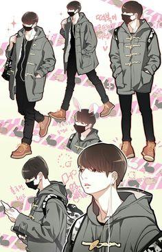 Bts fanart jeon jungkook bts bts jungkook, bts и bts fans Jungkook Fanart, Kpop Fanart, Bts Jungkook, Jikook, K Pop, Cutest Bunny Ever, Disney Gender Bender, Bts Drawings, Korean Art