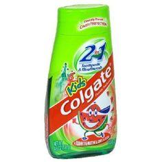 Colgate Kids 2 In 1 Toothpaste & Mouthwash, Watermelon Flavor, 4.6 oz (130 g) by Colgate. $2.49. Save 48% Off!. http://www.letrasdecanciones365.com/detailb/dpgdn/Bg0d0n0q0dApNy9hLgXc.html
