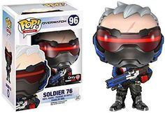 Funko - POP Games - Overwatch - Soldier 76