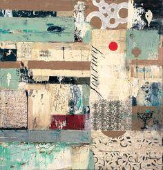 marti somers, Journey, Mixed media on board, 50x48, 130131