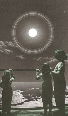 moon echo by Glass Planet, via Flickr