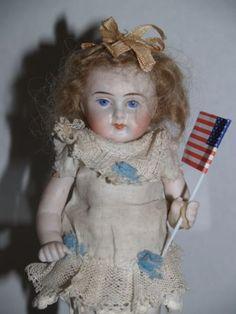 Antique All Bisque Kestner Wrestler Doll Pretty | eBay
