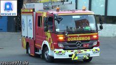 Madrid fire department // Coche CO-121 Bomberos Madrid Parque 12