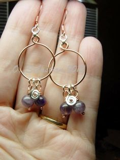 Here's your chance to win a pair of gorgeous mixed metal and amethyst earrings. All you have to do to enter is re-pin to one of your boards. Easy as that! Good luck everyone!