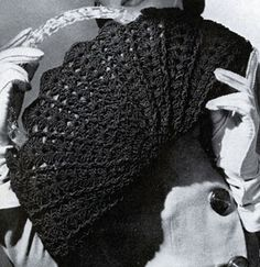 Cordet Bag No. 4816 crochet pattern from Handbags, originally published by Jack Frost Yarn Company, Volume No. 48, from 1945.