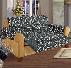 Leaf Sofa Furniture Protector Microfiber Sofa Slipcover