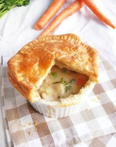Vegetarian Pot Pies-- I made these and they are amazing