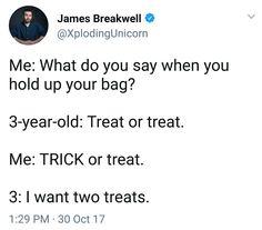 I want two treats