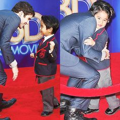 Darren Criss: Just too adorable with the Mini Warbler(: