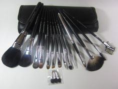 To get the best results, you have to find right tools!  Natural hair makeup brush set.  High quality for inexpensive price! ONLY $24.99 plus FREE SHIPPING for 14pcs make up brush tool set! Check out more information at OtoKmall :)