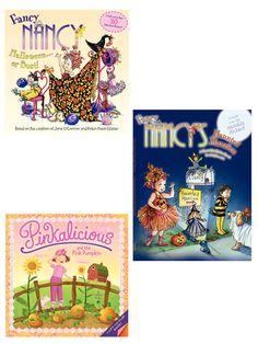 pinkalicious fancy nancy halloween book set by harper collins on giltcom - Fancy Nancy Halloween