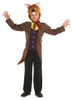 Mr Fox childrens dress up costume by Fun Shack
