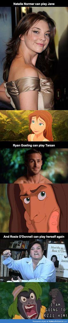 Disney's Tarzan Perfect Casting