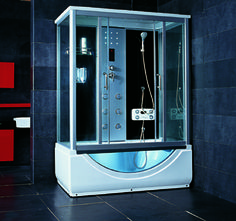 Luxury Spas And Whirlpool Bathtubs   OW A38 STEAM SHOWER Not The Most  Attractive For
