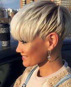 Earrings for Short Hair Fresh Sandra Sinh Short Hairstyles 3 Bestlook In 2019 Short Hair Undercut, Short Pixie Haircuts, Short Hairstyles For Women, Short Hair Cuts, Bob Hairstyles, Short Wedge Hairstyles, Curly Short, Braided Hairstyles, Medium Hair Styles