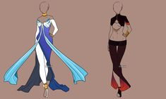 Fashion Adoptables Auction 11 - CLOSED by Karijn-s-Basement.deviantart.com on @DeviantArt