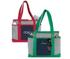 Classic and cool striped fashion tote. #PYDWH-INMTO