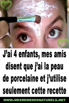 J'ai 4 enfants, mes amis disent que j'ai la peau de porcelaine et j'utilis… I have 4 children, my friends say I have porcelain skin and I only use this recipe Beauty First, Beauty Tips For Face, Beauty Box, Beauty Care, Diy Beauty, Beauty Hacks, Natural Hair Mask, Natural Hair Styles, Natural Beauty