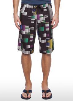 Плавательные шорты с цифровым принтом за 599р.- от OSTIN