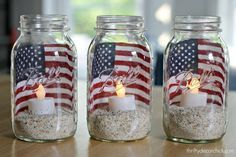 Cute and easy 4th of July ideas!                              …