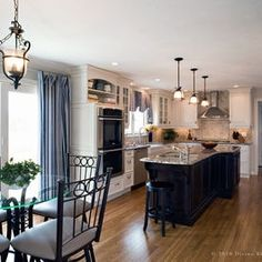 Kitchen long narrow kitchen Design Ideas, Pictures, Remodel and Decor
