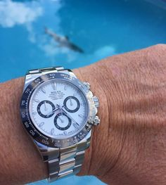 This beauty is in the wild already  can't wait to have it on my wrist  this shot is thanks to a member of the TheRolexforum.com  #Rolexing #116500 by rolexing24_7 #rolex #daytona #rolexdaytona #watchesformen