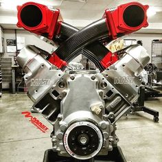 Follow @mastmotorsports Here's a @mastmotorsports built 427 LS engine. TAG a friend that needs this in their ride #LSX #mastmotorsports #ProTouring by moderndayhotrods