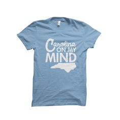 You'll love the design on thisNorth Carolina Minded T-Shirtas much as you love the Tarheel State.
