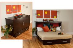 Cabinet Wall Bed