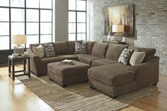 Ashley Justyna Sectional with Chaise