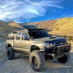 Save by Hermie Toyota Tacoma 4x4, Tacoma Truck, Toyota Tundra, Best Off Road Vehicles, Tacoma World, Tundra Truck, Overland Truck, Toyota Trucks, Lifted Trucks