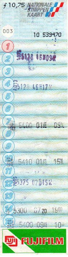 Nationale strippenkaart.