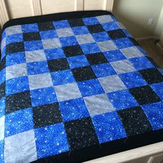 Stars and Swirls Quilt by LoveErinMarie on Etsy