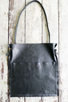 Image of SaddleBag - black [NEW. NOT IN STOCK. MADE TO ORDER]