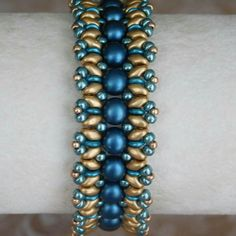 I am loving the new 2 hole cabochon beads!