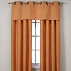 """Reina Grommet Window Panels - BedBathandBeyond.com- $50 for 95"""" lime color- **NOTE these are in our master bedroom in LIME***"""