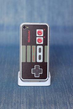 iPhone 4 Retro Nintendo Controller Skin & Wrap