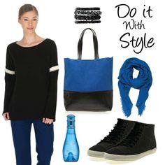 Özgür ve cool! Hafta sonu stilinize mavi katın! #love #fashion #style #limoncompany