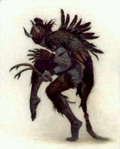 Krampus~the Yule Lord by Brom