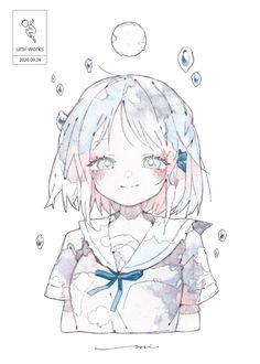 Art Reference Poses, Drawing Reference, Manga Anime, Anime Art, Cool Pixel Art, New Artists, Hatsune Miku, Cute Art, Art Sketches