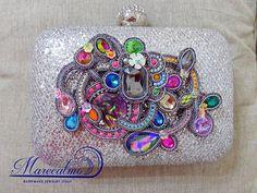 Disco party Clutch custom clutch bag personalized bag