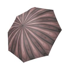 Mauve Weave Foldable Umbrella