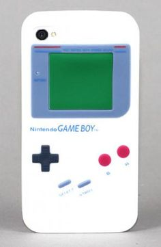 Gameboy iPhone Case. I must have this.