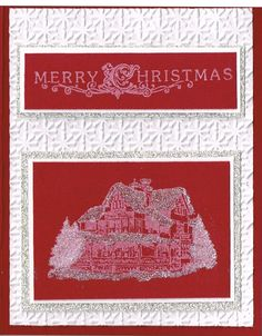 Stampin Up Christmas Lodge Craft White Ink