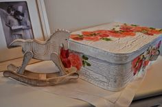children's suitcases- my shabby white home